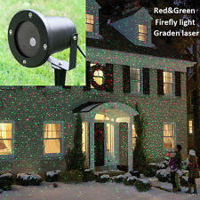 Outdoor LED Laser Stage Light Landscape Garden Yard Holiday Projector Xmas12V 1A