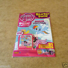 Panini My Little Pony Explore Equestria Sticker Starter Pack = Album 31 Stickers