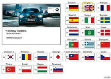 BMW I SERIES F20 I DRIVE HANDBOOK QUICK REFERENCE GUIDE 01402608656