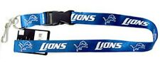 Detroit Lions Premium Blue Lanyard (NEW) Key Chain Keychain Necklace NFL CDG