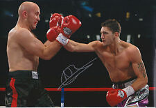 Nathan CLEVERLY Signed 12x8 Autograph Photo AFTAL COA WBO Boxing Champion