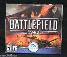 Battlefield 1942  World War 2 WWII PC Shooter Game New /Sealed BF 1942