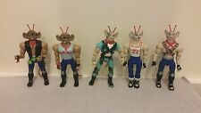 Vintage Bundle of Biker Mice from Mars Action Figures