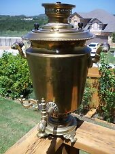 """VINTAGE 19TH Century Russian samovar  approx. 20""""  tall and 13"""" WIDE"""