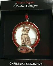 Precious Moments Ornament Our  Christmas Together. Best cat