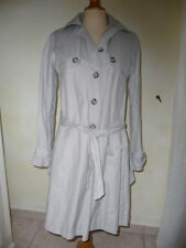 """IMPERMEABLE TRENCH GRIS CLAIR """"SINEQUANONE"""" TAILLE 38"""