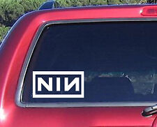 Nine Inch Nails band music decal sticker car truck windows