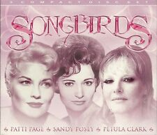 SONGBIRDS - 3 CD BOX SET - PATTI PAGE * SANDY POSEY & PETULA CLARK
