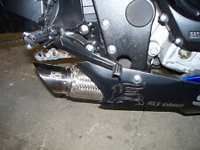 2007 - 2008  GSXR 1000 exhaust slip on RLS Exhaust Chaos series Polished
