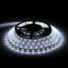 5M 5630 300 SMD LED Strip Lamp Flexible Adhesive Cool White non-Waterproof