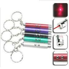 New Cool Small Mini Red Laser Pointer Pen LED w/Money Detector Child Pet Cat Toy