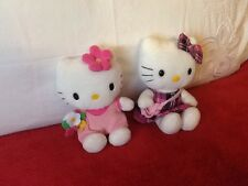 "TWO 6"" HELLO KITTYS"