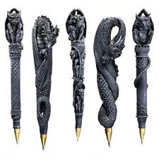 Set of 4: Gothic Dragons and Gargoyles Writing Pen