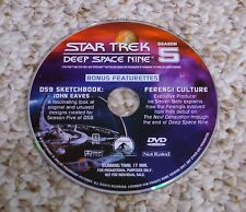 Best Buy Bonus DVD (Star Trek Deep Space Nine Season 5) DS9 Disc Ferengi Culture