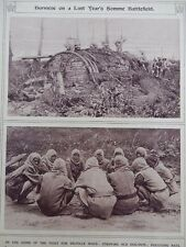 1917 BURMESE WORKING PARTY AT DELVILLE WOOD; JAPANESE NAVAL FUNERAL WWI WW1
