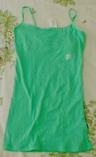 AEROPOSTALE STRETCH FAVORITY CAMI TOP / SHIRT - GREEN XSMALL
