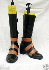 UnderTaker Cosplay SHOES BOOTS Custom Made