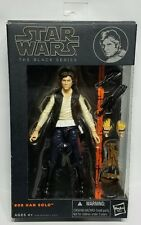 "Han Solo Star Wars the Black Series Hasbro #08 6"" Action Figure Hasbro Toy New"