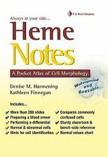 Heme Notes : A Pocket Atlas of Cell Morphology by Denise M. Harmening and...