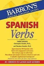 Spanish Verbs (Barron's Foreign Lanuage Guides), Kendris Ph.D., Theodore, Kendri