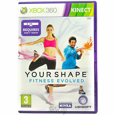 Your Shape: Fitness Evolved (Xbox 360) Health Fitness Kinect Family Kids Game