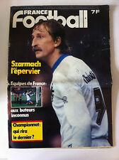 France Football du 2/2/1981; Szarmach l'épervier/ Equipe de France/ Espagne-Fran