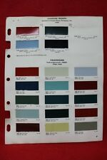 DUPONT 1965 British Motor Co Color Paint Chip Sample Standard Trimph Volks (138)