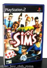 THE SIMS GIOCO USATO OTTIMO STATO SONY PS2 EDIZIONE UK PRIMA STAMPA PG815