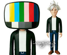 NEW~ Medicom VCD Andy Warhol 80's STYLE Version Figure