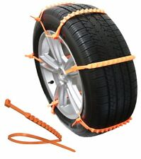 Zip Grip Go Emergency Tire Chain Traction for Snow Ice Mud in Car Van SUV