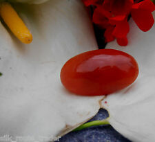 AA+ HIMALAYAN GEM QUALITY CARNELIAN CABOCHON CRYSTAL FOR FERTILITY & CREATIVITY.