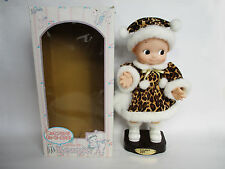 "Rose O'Neill Kewpie 14"" Dancing Doll QP Leopard Tokyo Mimore Japan Used"