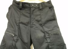DERBY UNITEX Cargo Combat Trousers Black Dog Handler Security CTR30 Size 92S