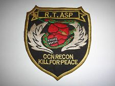 Vietnam War US 5th Special Forces Group RT ASP CCN KILL FOR PEACE Patch