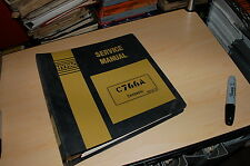 HYSTER c766a Roller Compactor Repair Shop Service Manual book owner rebuild 1990