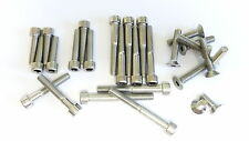 Honda CB200/CB 200 - Engine Covers Bolts Set - Stainless Steel