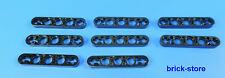 LEGO technic Nr- 6030286 / 3 fori 2-Croce Connettore piatto nero / 8 Pz.
