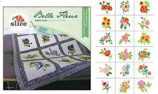 Slice Card Belle Fleur Fabric Fabrique Digital Design Die Cut Applique Quilt NEW