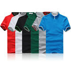 Stylish Men's Cotton Short Sleeve Slim Fit POLO Shirt T-Shirts Casual Shirts Tee
