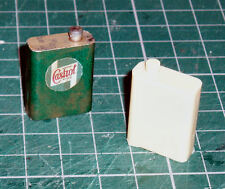 Resin Period Oil can for 1/8 scale Revell Monogram E Type or Pocher car kit
