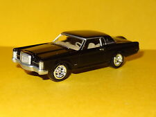 1969 LINCOLN CONTINENTAL MARK III LUXURY CAR BLACK 1/64 SCALE LIMITED EDITION PW