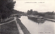 CHATILLON-SUR-LOIRE 4 le canal neuf péniche éd meilet