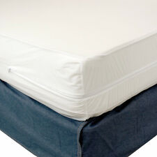 King Size None Ellergenic Mattress Cover Zippered Waterproof Bed Bug Protector