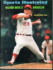 Sports Illustrated 1973 Chicago White Sox Knuckler Wilbur Wood No Label Exc.