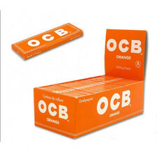 Ocb Orange   - Naranja.  100 libritos de papel de fumar . Nuevo
