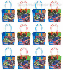 New Transformers Auto-bot Birthday Party Favors Loots Goodie Bag 12pc Gift Bags