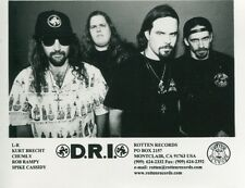 D.R.I. - DIRTY ROTTEN IMBECILES - PROMO PHOTO - FULL SPEED AHEAD 1995
