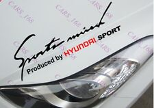☆New☆ Headlight Eyebrow Car Stickers Decals Graphics Vinyl For Hyundai (Black)