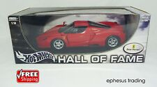 Hot Wheels Hall Greatest Ferrari ENZO F60 F-60 Coupe V12 Red w/Black 1/18 MINT!