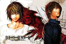 POSTER DEATH NOTE ELLE YAGAMI RYUK MISA LIGHT MELLO NEAR REM MANGA ANIME #11